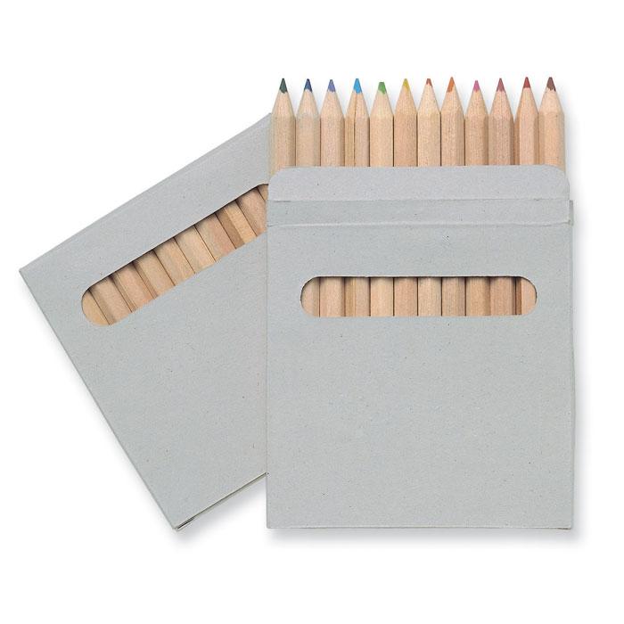 IT1047-01<br> Set de 12 creioane colorate