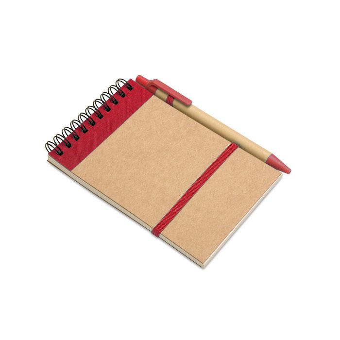 IT3789-05<br> Bloc notes reciclat și pix