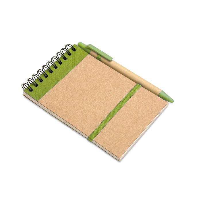IT3789-48<br> Bloc notes reciclat și pix
