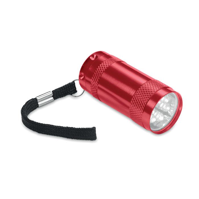MO7680-05<br> Mini-lanterna aluminiu+lanyard