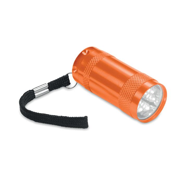 MO7680-10<br> Mini-lanterna aluminiu+lanyard