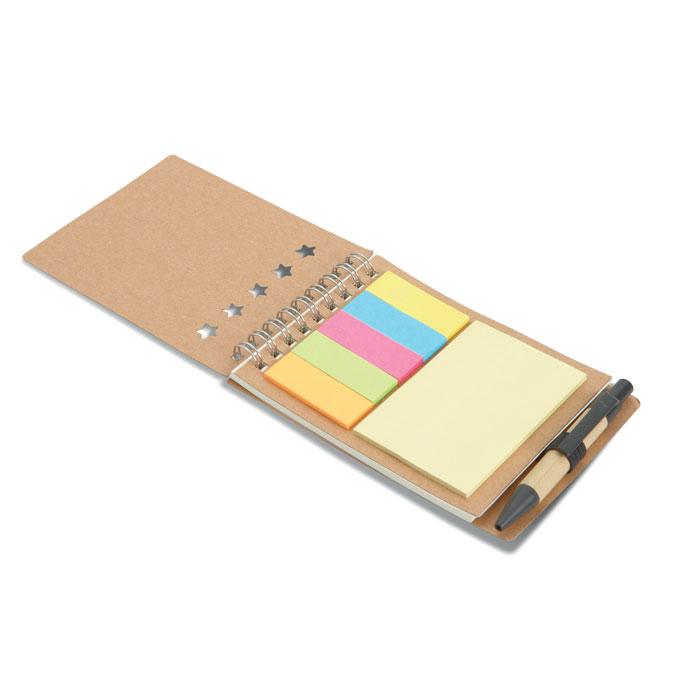 MO8107-13<br> Carnețel cu pix/notițe adezive