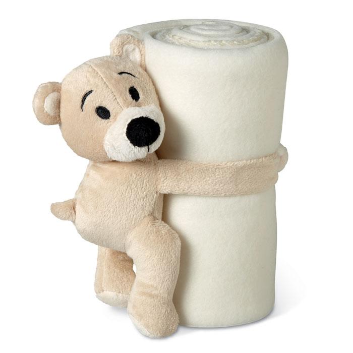 MO8252-06<br> Patura polar cu ursuleț