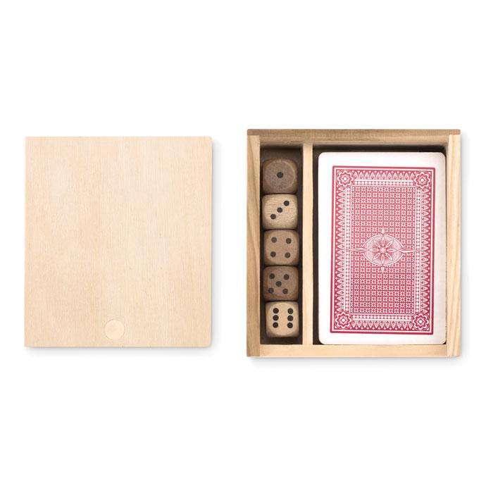 MO9187-40<br> Carți de joc și zaruri