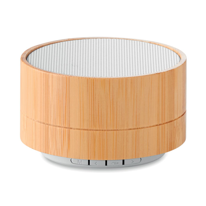 MO9609-06<br> Boxa Bluetooth din bambus 3W