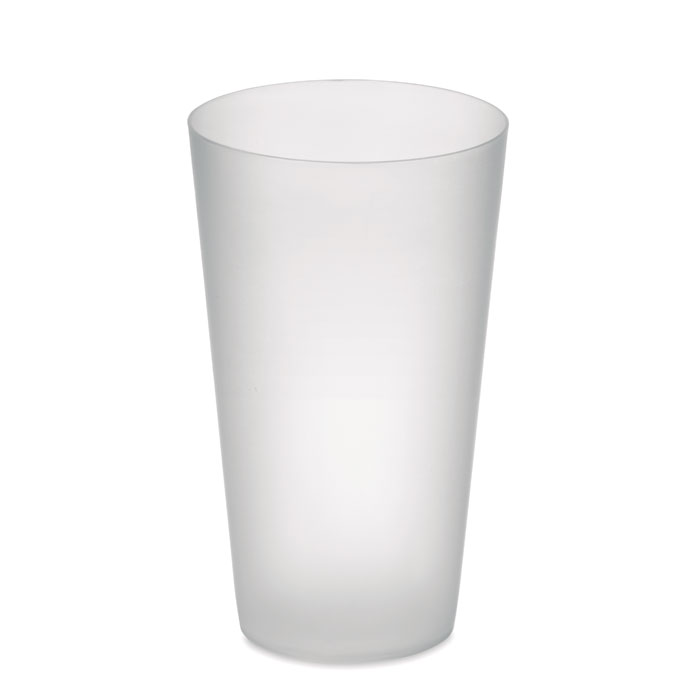 MO9907-26<br> Frosted PP cup 550 ml